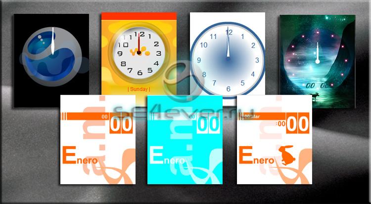Подборка новых flash часов для вашей мобилки