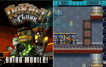 Ratchet & Clank: Going Mobile - java-игра