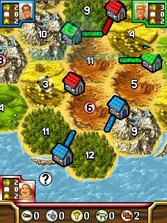 Catan: Die Erste Insel - java игра (Bluetooth)