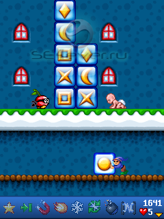 Puzzle World 3 - java игра для SE [176x220]