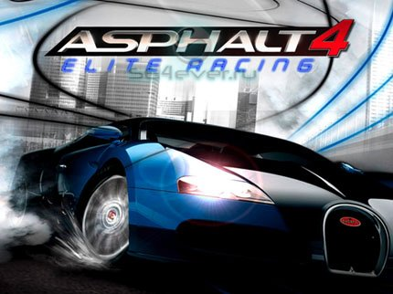 Asphalt 4: Elite Racing - java игра для SE