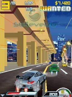 Asphalt 4: Elite Racing - java игра для SE