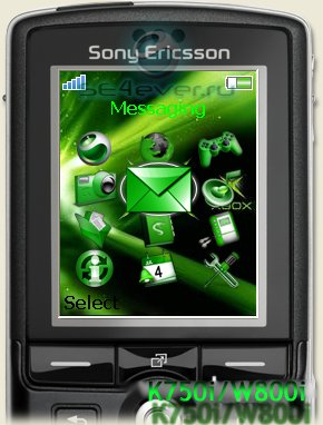 Green menu - Иконки меню для SE [176x220]