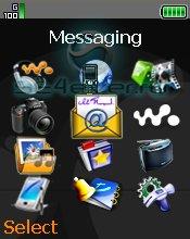 Slimp menu - Иконки меню для SE [176x220]