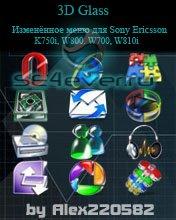 3D Glass menu - Иконки меню для SE [176x220]