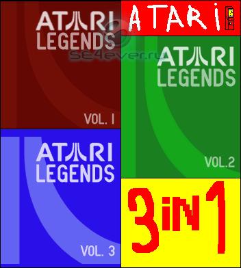 Atari Legends – Игра для телефонов Sony Ericsson