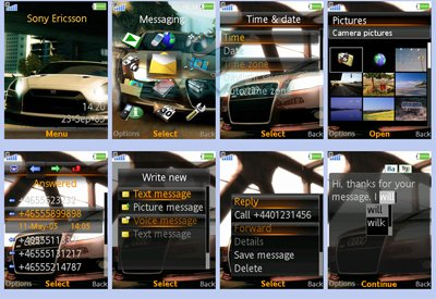 Need for Speed Undercover Theme - Тема для Sony Ericsson [320x240]