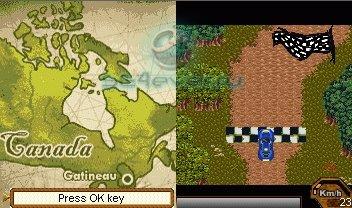 Mundial De Rally - java игра для SE