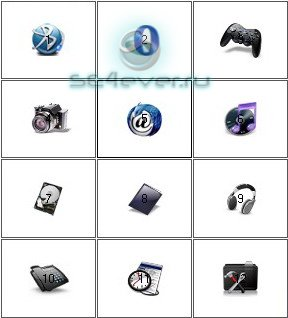 Menu Icons for Sony Ericsson [176x220]