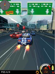 Need For Speed: Undercover Mobile - Java игра для Sony Ericsson