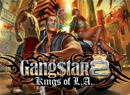 Gangstar 2: Kings of L.A - java игра для SE (Русская версия)