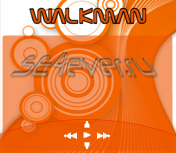 Walkman Nice Orange - Скин плеера Walkman 1.0