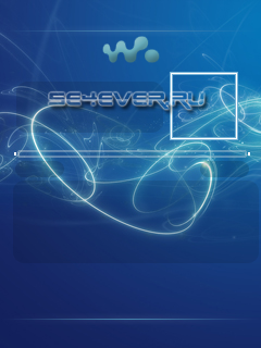 Blue Light - скин для Walkman 2.0