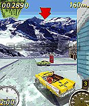 Super Taxi Driver 3D - Java-Игра для Sony Ericsson