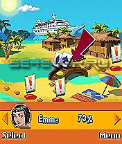 Party Island: Sexy Trivia - Java-Игра для Sony Ericsson