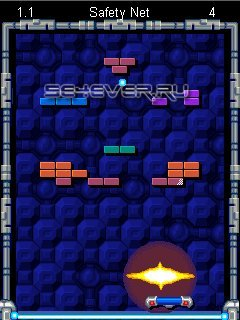Super Breakout - Java-Игра для Sony Ericsson