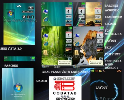Vista Cambiante - Mega Pack For SE W580