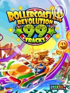 Rollercoaster Revolution 99 Tracks - Java игра для Sony Ericsson