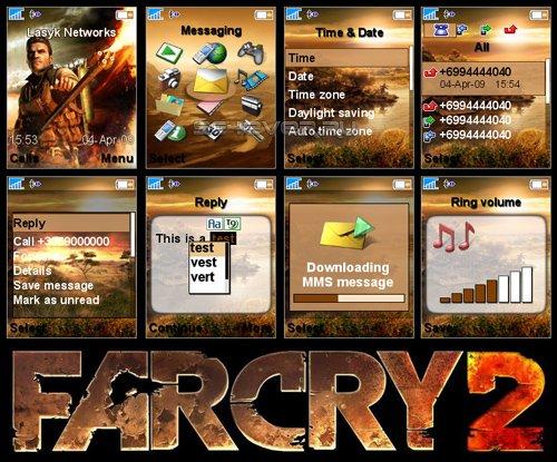 Far Cry 2 - Тема для Sony Ericsson 176x220