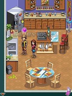 Сенсорная Java игра Hannah Montana Secret Star. Скриншоты к игре.