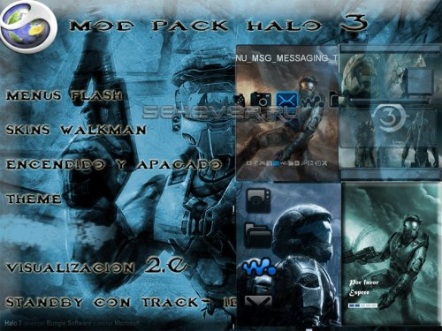 Halo 3 - Mega Pack 240x320