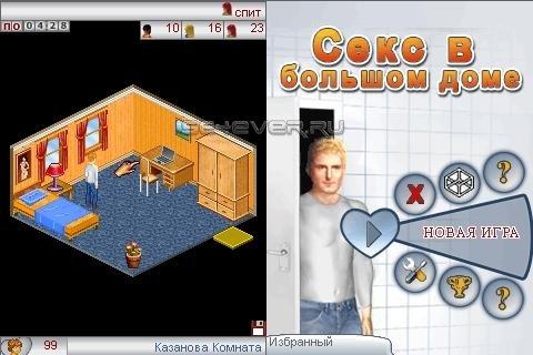 Секс в большом доме game