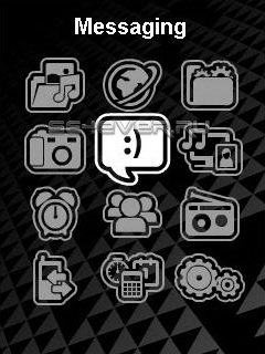 Walkman menu new icons