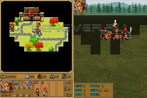 Heroes of Might and Magic 3 - Java Игра
