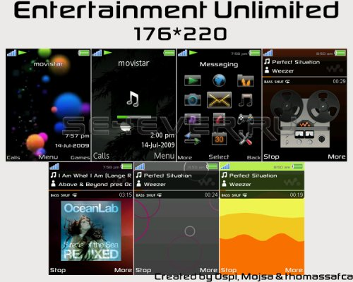 Entertainment Unlimited - Mega Pack For SE 176x220