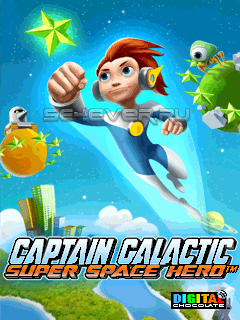 Captain Galactic: Super Space Hero - Java игра для Sony Ericsson