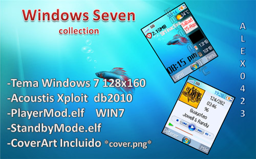 Windows Seven - MegaPack For SE 128x160