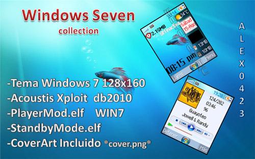 Windows Seven - MegaPack For SE 128x160