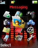Express Music RED - тема для Sony Ericsson 128x160
