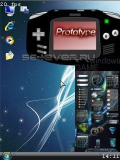 Windows Prototype - java приложение