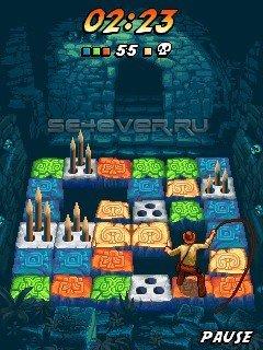 Indiana Jones: The Lost Puzzle - java игра для SE