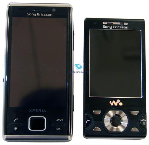 Сравнение с Sony Ericsson W995: