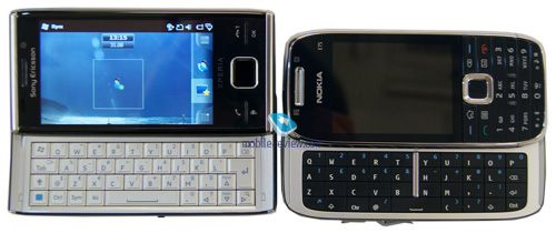 Сравнение с Nokia E75: