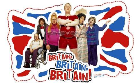 Маленькая Британия в Большой Америке (2008) / Little Britain USA / Ваша Бриташа / HDTVRip