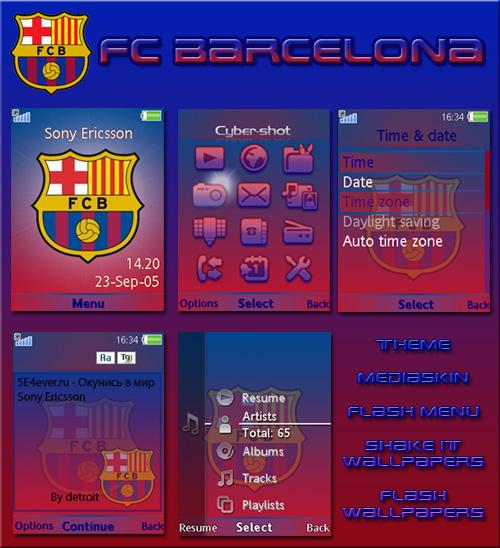FC Barcelona - MegaPack for SE A2v2