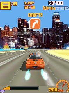 Asphalt 5 3D Nitro Rush Мод - java игра