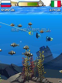 Fishing Off The Hook - Java игра для Sony Ericsson