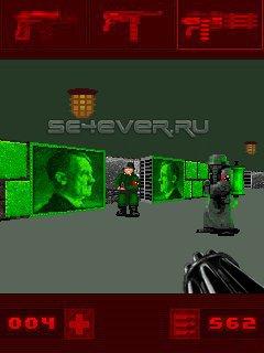 Bunker 3D 2.0 / Бункер 3D: План Гитлера 2.0 - Java игра для Sony Ericsson