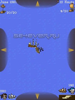 Sid Meier's Pirates - Java игра для Sony Ericsson