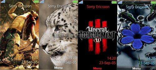 4 Themes For Sony Ericsson AINO U10i