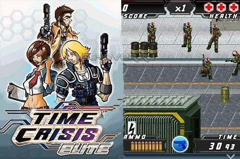 Time Crisis Elite - Java игра