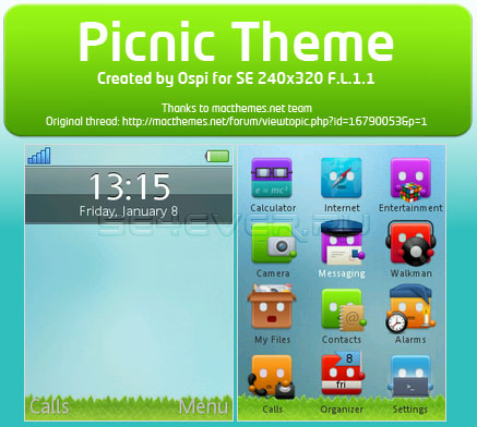 iPhone Theme FL 1.1 240x320