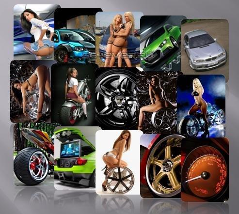 Более 200 отборных картинок на тему авто-мото 240x320