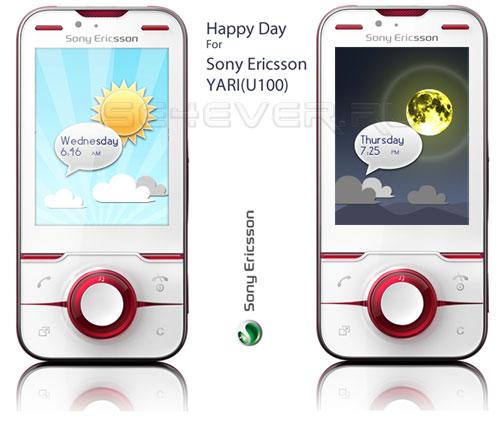 Happy Day - Theme For Sony Ericsson Yari / U100