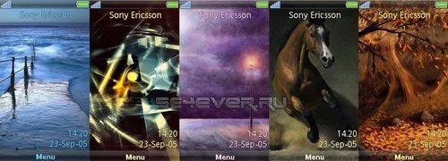 5 Themes For Sony Ericsson AINO U10i