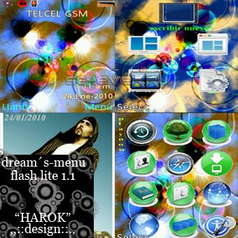 DREAM´S - Theme & Flash Menu For Sony Ericsson 240x320
